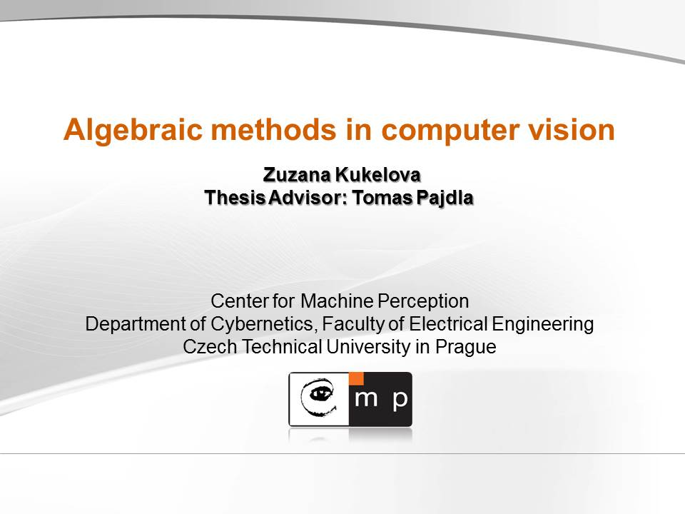 Phd thesis computer vision