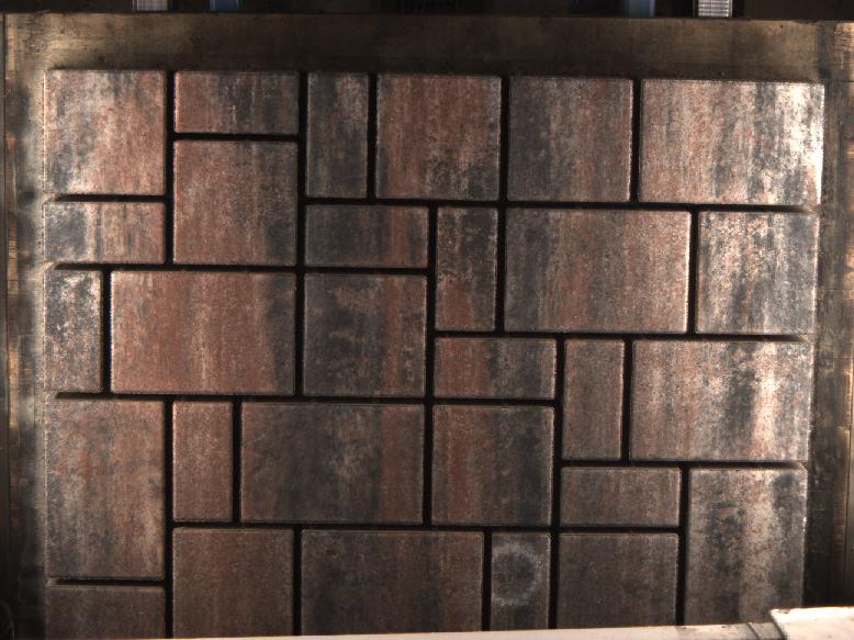 betonové bloky na výrobní lince